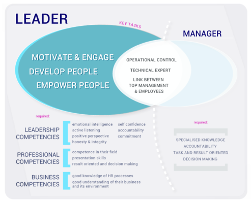 leadership compentencies for middle managers in Europe
